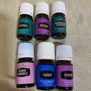 6 new 5ML Young Living Oil